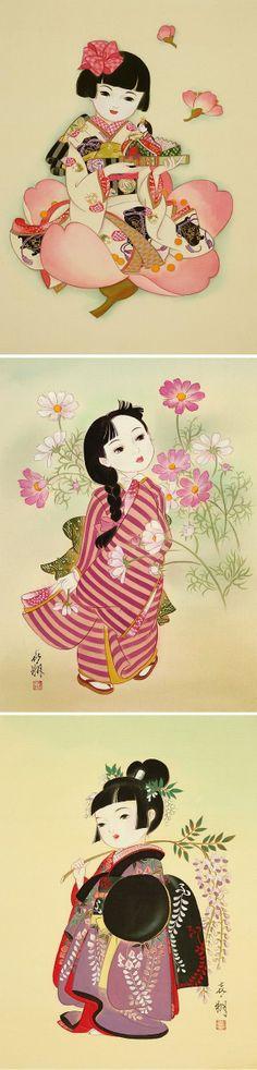 Arte de Tsukuda Kisho.