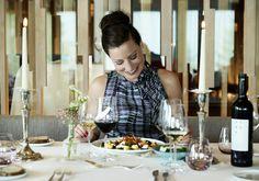 Restaurant Bellevue Adelboden, Hotel Bellevue, Table Settings, Restaurant, Diner Restaurant, Place Settings, Restaurants, Dining, Tablescapes