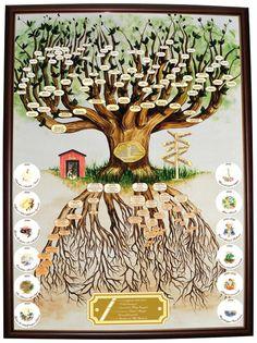 Oak Tree with European Roots • Custom made