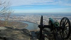 The view from Lookout Mountain, minutes from downtown Chattanooga, Tennessee. (Flickr/Woody Hibbard)