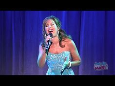 """I think i can sing, i can't but this is one of the many songs i think i can sing. also super cool to see the face behind the cartoon voice . Jodi Benson (voice of The Little Mermaid) performs """"Part of Your World"""" at the 2011 D23 Expo"""