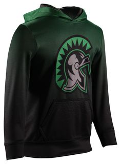 Fully sublimated team hoodies. Shown in the Pixel design
