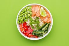 Brown Rice Veggie Bowl – Fresh Start