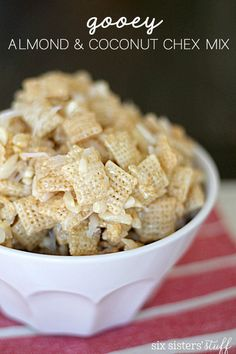 ... Chex recipes on Pinterest | Muddy buddies recipe, Chex mix and Puppy