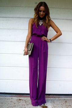 Business casual #purple