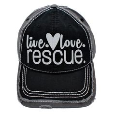 a86033a101c Live Love Rescue Trucker Hat Baseball Hat. New Condition.  fashion   clothing  shoes  accessories  mensaccessories  hats (ebay link)