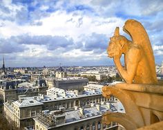 The gargoyles at Notre Dame were one of my favorite things in Paris...