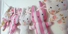 OMG, the striped bunnies :)