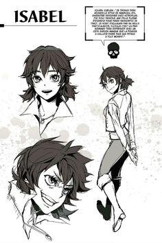 Isabel Magnolia - Shingeki no kyojin birth of Levi