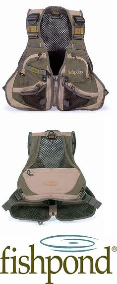 Vests 65982: Fishpond Elk River Youth / Ladies Fly Fishing Vest Pine Needle Color--New -> BUY IT NOW ONLY: $69.95 on eBay!