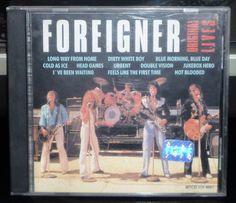 foreigner - original lives - cd brasil