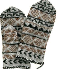 Mittens In Scandinavian Style pattern Crochet Mittens, Fingerless Mittens, Knitted Gloves, Knit Crochet, Fair Isle Knitting, Knitting Socks, Knit Socks, Wrist Warmers, Hand Warmers