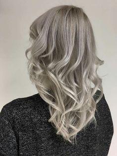 Cold blond, platinum blond, new hair