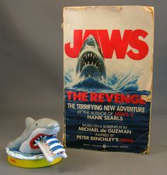 jaws the revenge  book