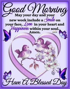 Good Morning New Week Blessings - Beach Monday Morning Blessing, Good Sunday Morning, Good Morning Prayer, Good Morning Quotes For Him, Good Morning Inspirational Quotes, Good Morning Messages, Good Night Quotes, Morning Wish, Good Morning Images