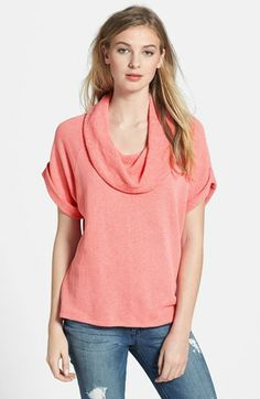 Caslon® Cowl Neck Pullover available at #Nordstrom