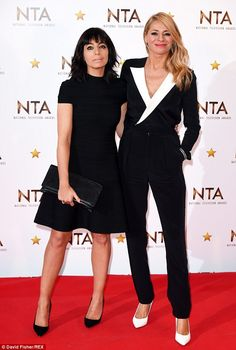 Dream team: Strictly Come Dancing presenting duo Claudia Winkleman and Tess Daly looked ch...