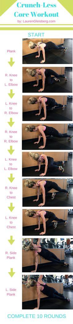 Day 16: Core Sequence Workout | #LGKickStartFit 2015 Health & Fitness Challenge by LaurenGleisberg.com
