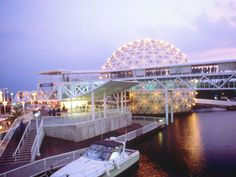 Ontario Place~one of our first places to take a vacation without the kids...