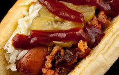 Baseball+Hot Dogs=Classically American, Love this time of year!!!