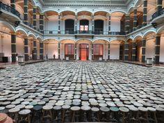 Obra de Ai Weiwei na Martin Gropius Bau (2014)