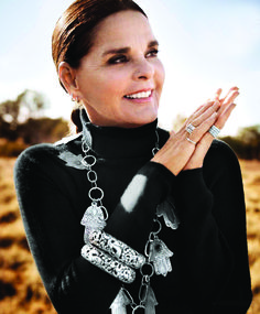 Ali MacGraw in a photo shoot she did for Town & Country Mag in 2013 near her home in Santa Fe New Mexico -- Ali is 75 today!