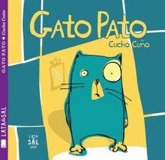Gato Pato es la surrealista historia de un gato que, al enfrentarse a su reflejo, ve algo que para nada espera. Un delirante relato, con un principio sorprendente y un final inesperado. Es la historia real de un gato real llamado Tutiano Pata de Palo, que un día, creyéndose una paloma, intentó volar y cayó accidentado.