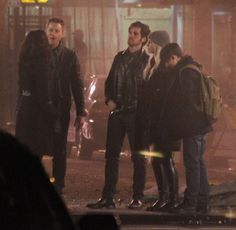 """Lana Parilla, Josh Dallas, Jennifer Morrison, Colin O'Donoghue, Jared Gilmore - Behind the scenes - 5 * 20 """"Firebird"""" - 23 February 2016"""