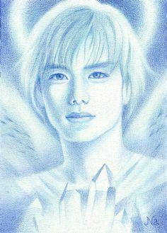 2001 Hideaki Takizawa. color pencil by Naoko Aoyama