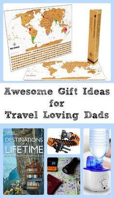 Gifts for travel lovers. Great for Father's Day, Christmas, Birthdays and more.  Travel | Gifts | Gift Guide | Vacation | Family Travel | Travel Gear | Hiking and Camping Gear | via @thebeccarobins