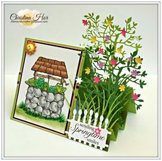 4.25x5.50 Side Step Card Tutorial by MemoriesCrafter - Cards and Paper Crafts at Splitcoaststampers