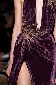 Elie Saab Couture Details, Fall 2016 - Elie Saab's Most Beautiful Runway Details of the Decade - Photos