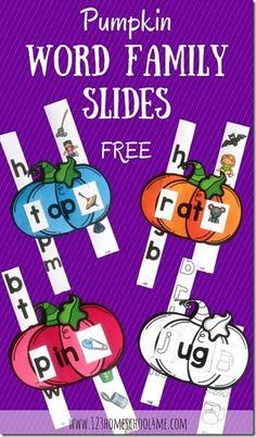 FREE Pumpkin word fa