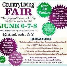 2014 Country Living Fair Brochure