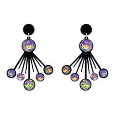 Groove is in the Heart earrings - Melody Ehsani
