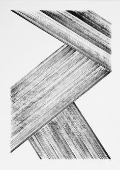 Black and White abstract linear art by Daniele De Batté Motifs Textiles, Art Walk, Grafik Design, Pics Art, Geometric Art, Installation Art, Textures Patterns, Painting Inspiration, Abstract Art