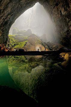 La grotte Hang Soon Dong au Vietnam