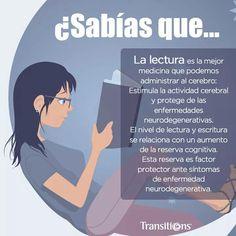 Leer influye de muchas formas en tu mente y en tu vida. Además, en un plano fisiológico se ha demostrado quequienes leen activamente son capaces de incrementar la conectividad de sus neuronas.