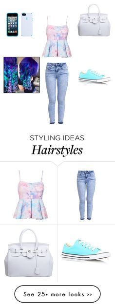 """""""got up to get my hair done """" by alexisf1578 on Polyvore"""