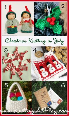 Christmas Knitting in July