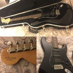 fender Fat stratocaster Black Year 2000 Made In Mexico   Musical Instruments & Gear, Guitars & Basses, Electric Guitars   eBay!  #fenderstratocaster #fenderstrat #fenderguitars #fenderelectricguitars #fenderblackguitars #blackelectricguitars #fenderfatstrat #fenderjazzstrat #guitarsforsale #guitarsale #guitarcenter
