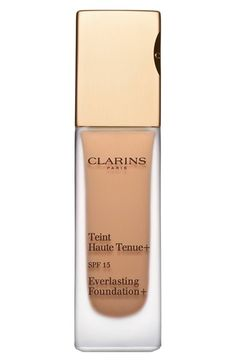ceb909dee54f Clarins  New Generation  Everlasting Foundation SPF 15 in cappuccino  available at  Nordstrom Beauty