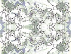Wallpaper Pattern: Bellus Color Way: Olive
