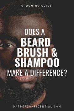 The best beard shampoo and beard brush transform dry, crusty beards into luxurious facial manes. Read the article for some of the best beard products to get. #beard #hair