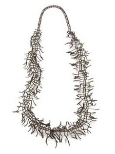 Christine Matthias - necklace, 2001 alpacca