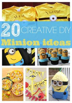 20 Minion Crafts Your Kids Will Love - Pretty My Party