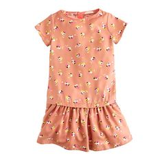 The same print Mom wears—now in a pretty dress that's got playground-to-playdate written all over it. Oh yeah, it's also machine washable, which comes in handy because this is one she's going to want to wear every. Single. Day. <ul><li>A-line silhouette.</li><li>Falls to knee.</li><li>Poly.</li><li>Machine wash.</li><li>Import.</li></ul>