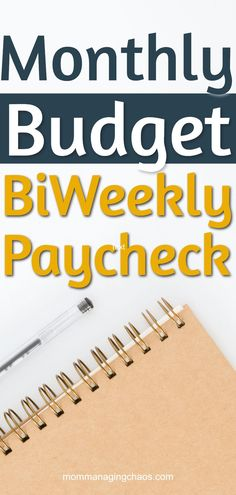 How to budget monthly bills with biweekly pay slips Need budget help? Struggling with how to create a monthly budget with your biweekly paycheck? Check out this definitive guide to how to organize your finances, set up your budget and more to start winnin Budgeting Process, Budgeting Finances, Budgeting Tips, Budget Binder, Monthly Budget, Sample Budget, Monthly Expenses, Budget Help, Planning Budget