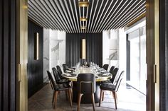 Beefbar by Humbert & Poyet Architecture, Hong Kong