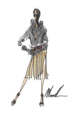 Michael Kors #fashion #sketch